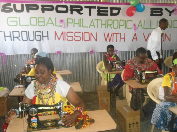 Tailoring Project Funded by Global Philanthropy Alliance